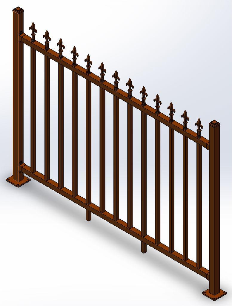 铝艺护栏型材